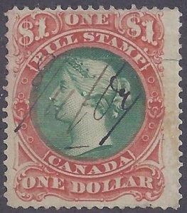 Canada Revenue scott #FB33 used F-VF