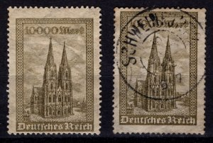 Germany 1923 Cologne Cathedral, 10,000m [Unused & Used]