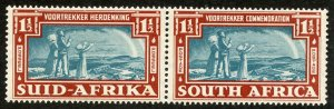 South Africa, Scott #80, Unused, Hinged pair