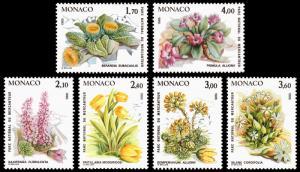 Monaco Scott 1466-1471 (1985) Mint NH VF Complete Set