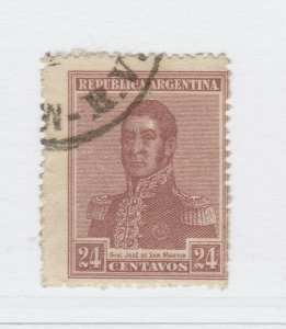 A3P19F48 Argentina 1916 24c used