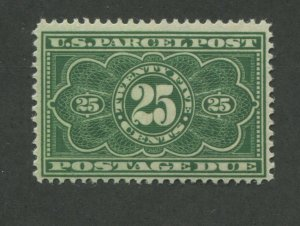 1913 United States Parcel Post Postage Due Stamp #JQ5 Mint Lightly Hinged F/VF
