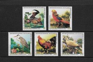 BIRDS - CUBA  #4123-27  MNH