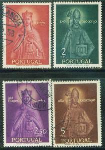 Portugal Scott 832-5 used complete set