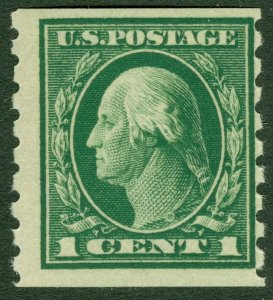 EDW1949SELL : USA 1912 Scott #412 Mint Never Hinged. Catalog $55.00.