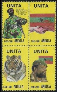 Angola UNITA MNH Block - UNITA Rebel Group
