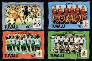 UK STAMP TUVALU MNH STAMPS COLLECTION LOT  #S5