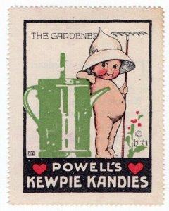 (I.B) US Cinderella : Kewpie Kandies Promo Stamp 5 (The Gardener)
