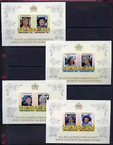 Montserrat 1985 Life & Times of HM Queen Mother the s...