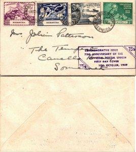 1949 BERMUDA FIRST DAY COVER, 1949, UPU