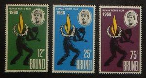 Brunei 147-49. 1968 Human Rights