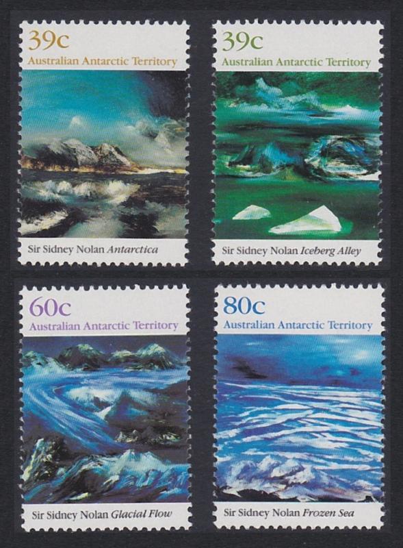 Australian Ant. Terr. Antarctic Landscape 4v SG#84-87 SC#L77-L80 MI#84-87