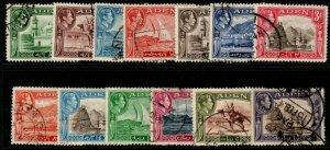 ADEN SG16/27 1939 DEFINITIVE SET FINE USED