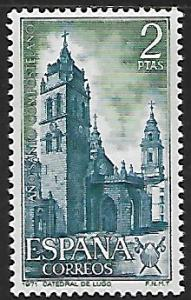Spain # 1649 - Lugo Cathedral - MNH