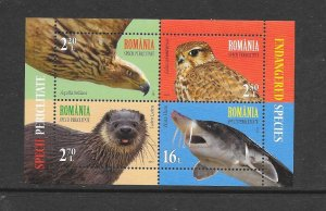 ROMANIA #5946b  PROTECTED SPECIES  MNH