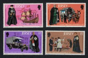 Jersey St John Ambulance Centenary Medicine Ships Transport 4v SG#175-178