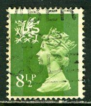 Great Britain, Region, Wales; 1976: Sc. # WMMH11: O/Used Single Stamp