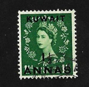 Kuwait 1952 - U - Scott #104