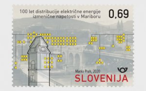 Slovenia 2020 Centenary of the Alternating Current Electricity Supply 1v MNH