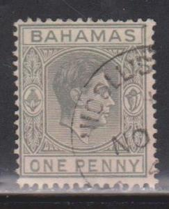 BAHAMAS Scott # 101A Used - KGVI