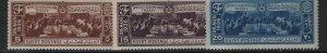 EGYPT, 203-205, (3) SET,  MNH, 1936 Signing of treaty