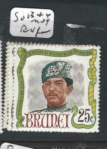 BRUNEI  (PP1005B)  SG 134-6     MOG