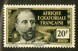 FRENCH EQUATORIAL AFRICA 72 MH SCV $4.00 BIN $1.75 PERSON