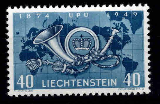 LIECHTENSTEIN Scott 237 MNH** UPU stamp