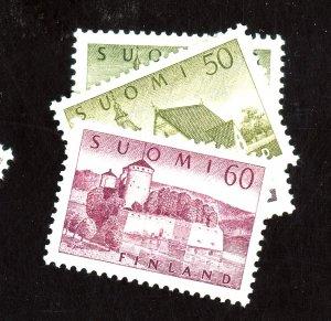 Finland #336-338A MINT FVF OG HR Cat$26.85