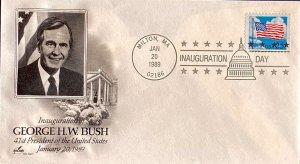 Artcraft Inauguration Day 1989 George H. W. Bush Milton, Massachusetts