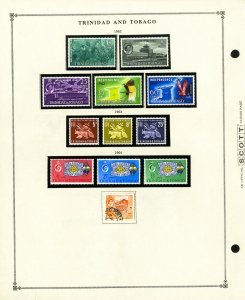 Trinidad & Tobago Clean Mint & Used 1960 to 1990 Popular Stamp Collection