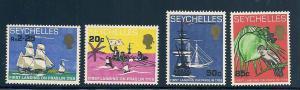 Seychelles 248-251 Mint VF NH