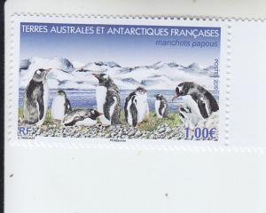2019 FSAT Fr Antarctic Gentoo Penguins  (Scott NA) MNH