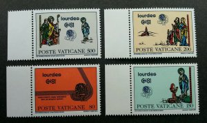 Vatican 42nd International Eucharistic Congress 1981 (stamp margin) MNH