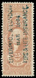 momen: US Stamps #R48c Revenue Used printed cancel