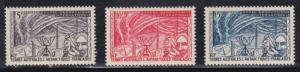 French Southern & Antarctic Territories   #8-10     mnh      cat $10.00