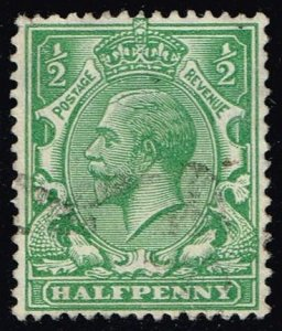 Great Britain #187 King George V; Used (1.10)