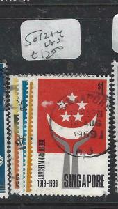 SINGAPORE  (P1404BB)   SG 121-4   VFU