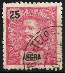 Angra 1899 Scott# 21 Used