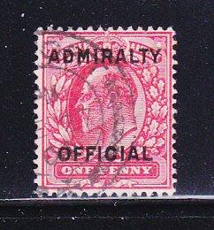 Great Britain O79 U King Edward VII