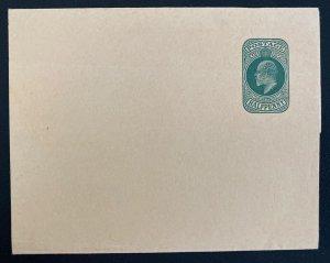 Mint England Wrapper Postal Stationery Half Penny Green #12