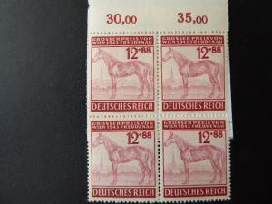 Germany 1943  Block of 4  Sc.# B245  $1.00   MNH