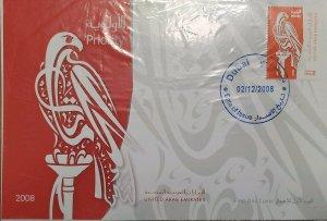 O) 2008 UNITED ARAB EMIRATES, FALCON, PRIORITY SERVICE, XF