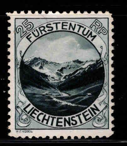 LIECHTENSTEIN Scott 98 MH* perf 10.5 stamp