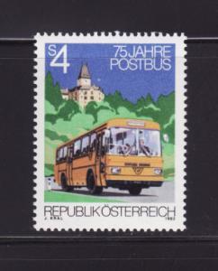 Austria 1218 Set MNH Mail Bus (B)