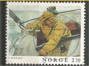 NORWAY, 1987, used 2.70k Painting: Scott 915