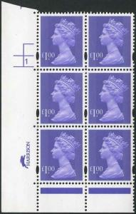 SDONP100A One Pound Bluish Violet Cyl 1 No Dot p47 Harrison U/M