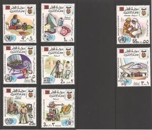 Qatar 323-330 Mint VF H