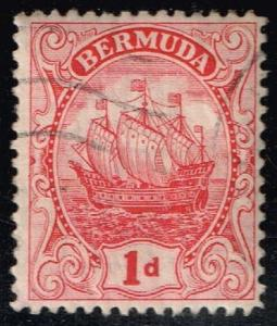 Bermuda #83a Caravel; Used (8.50)