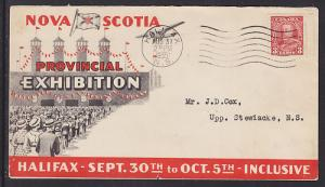 Canada Sc 219 on 1935 Provincial Exhibition Cover